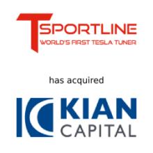 TSportline & Kian Capital deal