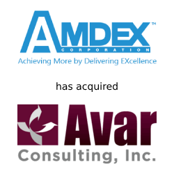 Amdex and Avar Consulting deal