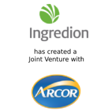 Joint Venture with Ingredion and Grupo Arcor