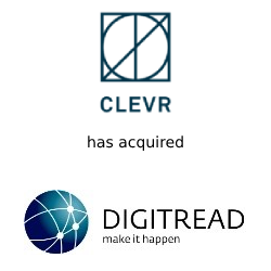 Clevr & Digitread done deal